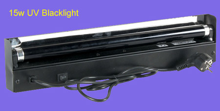 15w UV Blacklight lamp