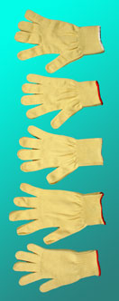 Kevlar gloves, 5 sizes  - Freaks Unlimited juggling equipment