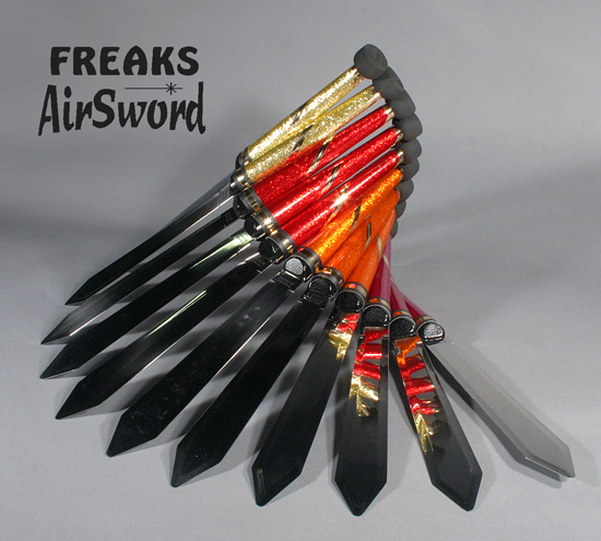 Freaks AirSword juggling knives Glitter group