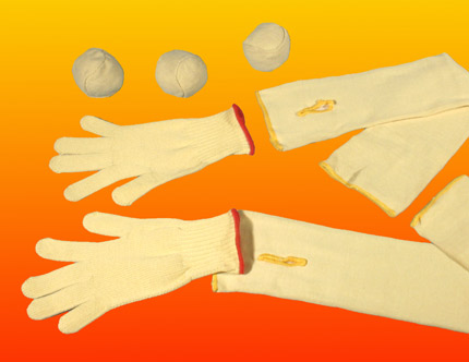 kevlar gloves, kevlar sleeves - Freaks Unlimited juggling equipment